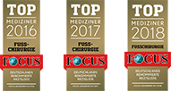 Siegel: Focus Top Mediziner 2017